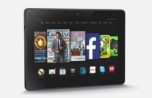 Компания Amazon представила обновлённый планшет Amazon Fire HDX 8.9.