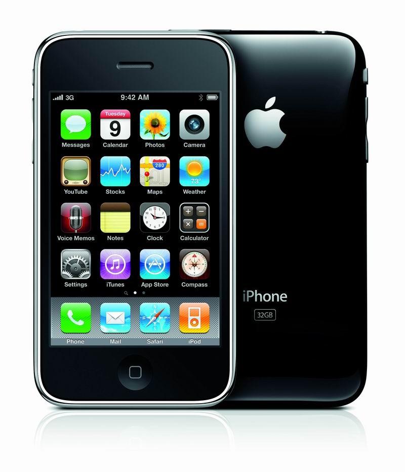 Сотовый телефон apple iphone 3gs фото
