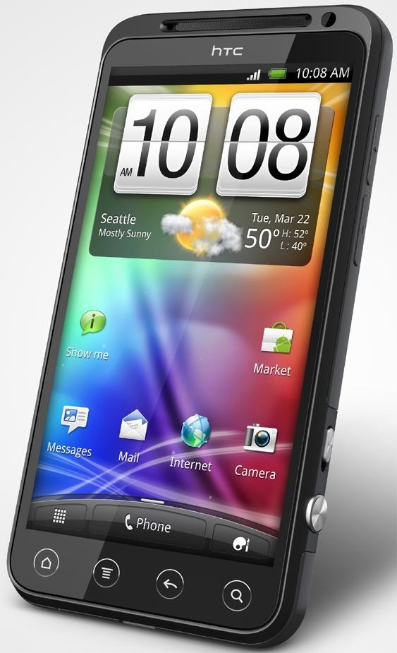 Сотовый телефон htc evo 3d фото