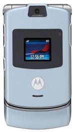 Motorola RAZR in Blue