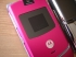 Motorola RAZR in Pink