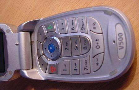 Motorola V500