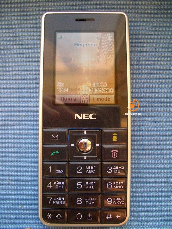 Сотовый телефон nec N343I.