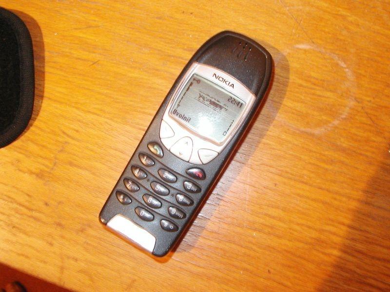 Сотовый телефон nokia 6210 фото