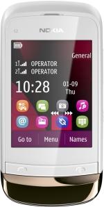 Nokia c2 03 описание телефона каталог