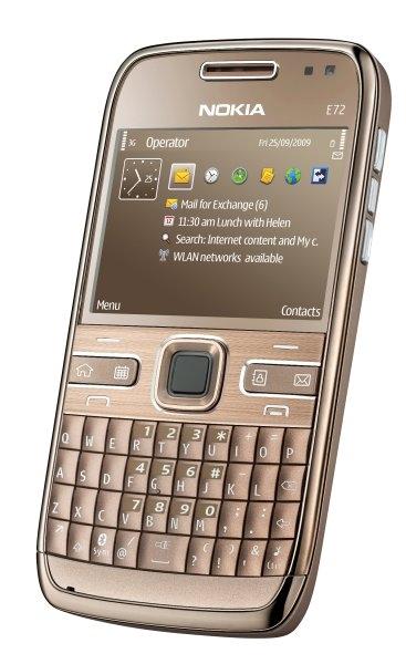Сотовый телефон nokia e72 фото