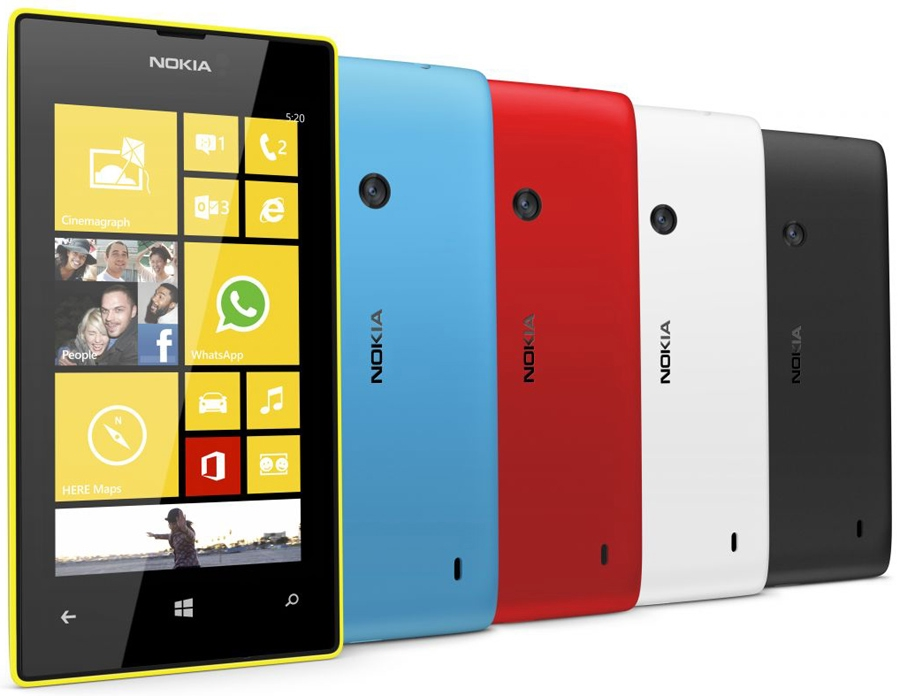 Сотовый телефон nokia lumia 520 фото