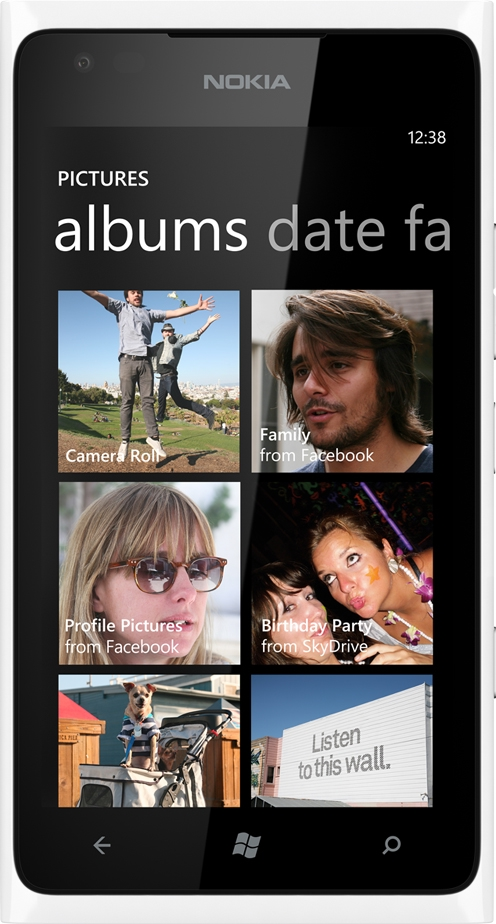 Сотовый телефон nokia lumia 900 фото