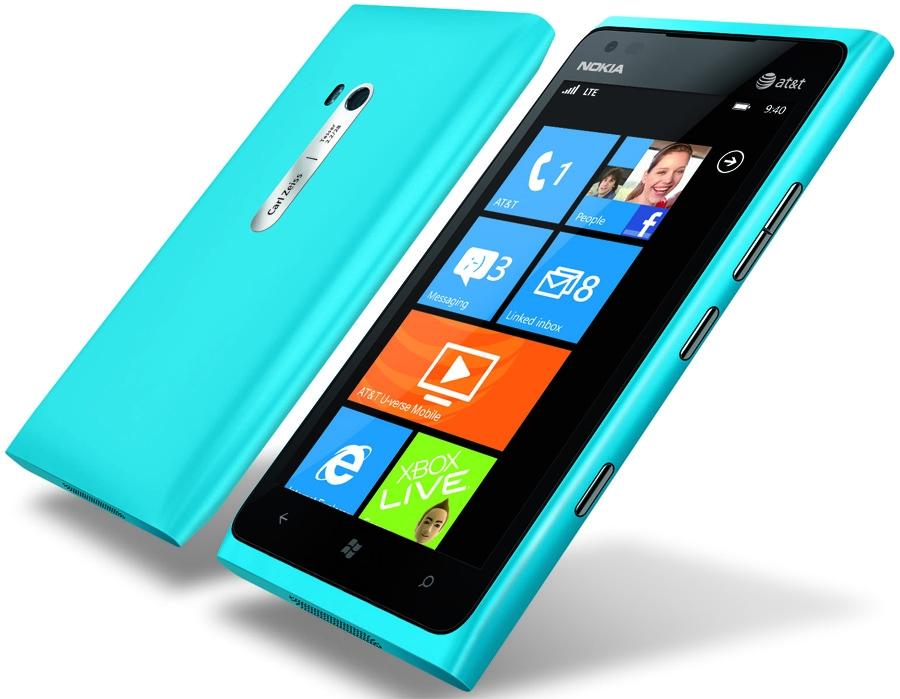 Сотовый телефон nokia lumia 900 at t фото