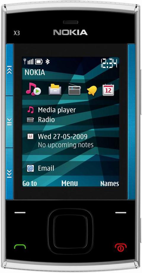 Сотовый телефон nokia x3 фото