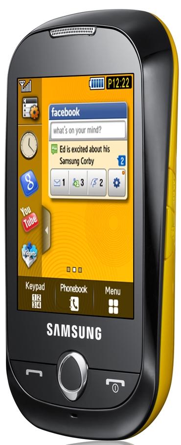 Samsung S3650 Corby