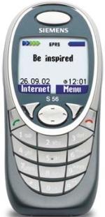 Siemens s56 описание телефона каталог