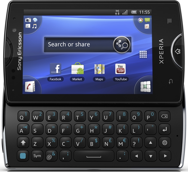 Сотовый телефон sony ericsson xperia mini pro фото