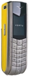 Vertu Ascent Yellow Leather