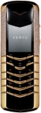 Vertu Yellow Gold Half Pave Diamonds