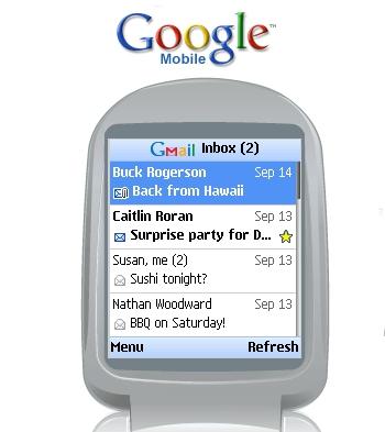 Сотовые услуги Google