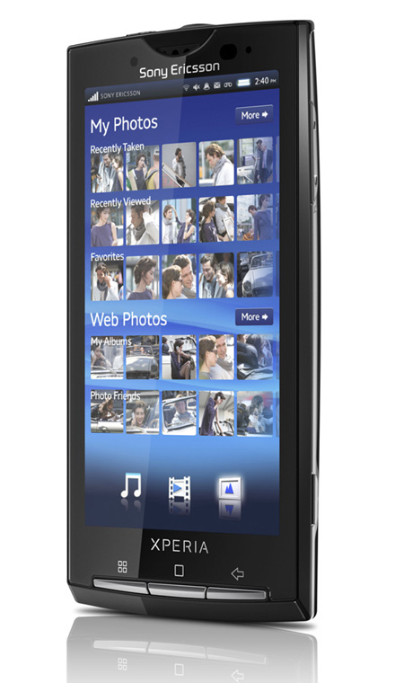 На фото the first android device from sony ericsson may have