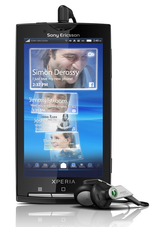Sony Ericsson XPERIA X10 (Rachael)