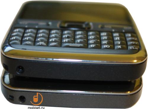 Сравнение Nokia E71 и Nokia E72