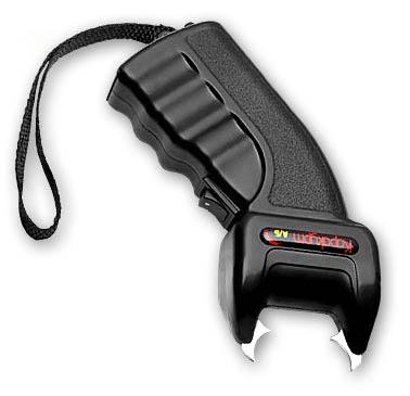 Электрошокер один из популярных средств самообороны.Принцип работы электрошокера основан на...