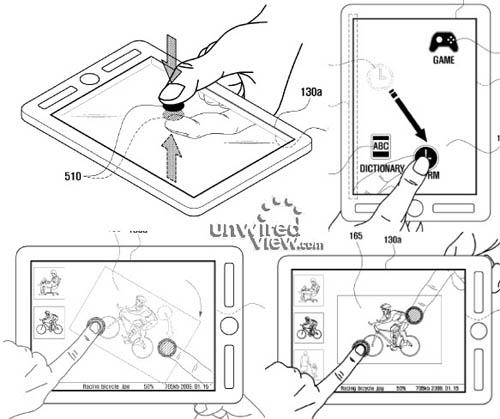 Компания Samsung хочет запатентовать планшет, который имеет две сенсорных панели, и с их помощью может описывать...