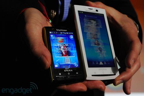 Sony Ericsson на MWC 2010. SE Vivaz pro, X10 mini и X10 mini pro