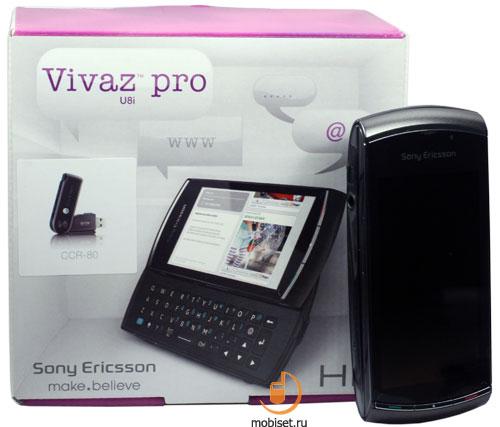 Sony Ericsson U8i Vivaz Pro