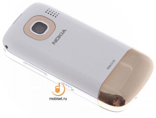 Тест, Обзор Nokia C2-03: раздвижной и сенсорный двухсимочник.