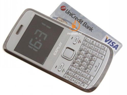 Размеры телефона 114,5х59х11,5 мм, вес 105 г