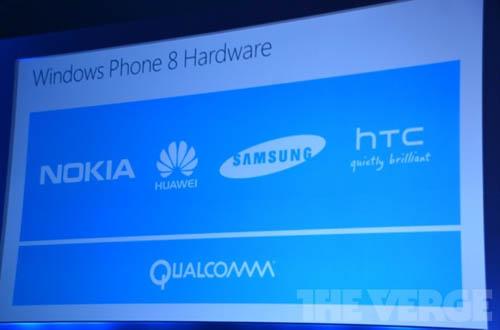 Huawei, Samsung и HTC.