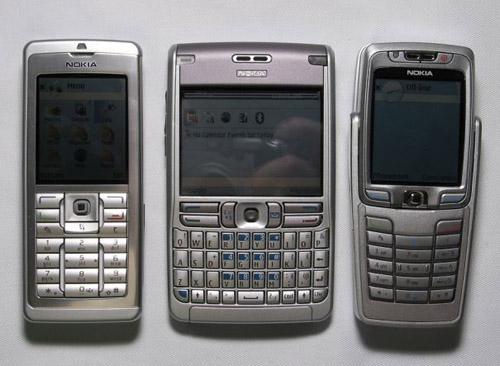 История смартфонов  Первые смартфоны Nokia Eseries  Nokia