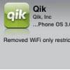 Qik для iPhone научился работать с 3G
