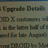 Motorola Droid получит Android 2.2 в июле
