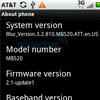Motorola MB520 Kobe - новый Android-смартфон для AT&T
