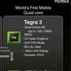 NVIDIA Tegra 3 получит 4-ядерный процессор с частотой 1,5 ГГц