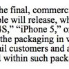 Samsung требует показать прототипы iPhone 5 и iPad 3