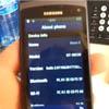 Видео Samsung Wave II с установленной bada 2.0.1