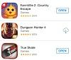 В App Store появился раздел с обновлениями для игр